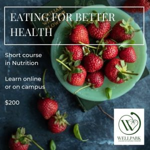 Nutrition course at wellpark college