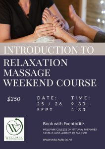 Relaxation-massage-short-course-wellpark-college